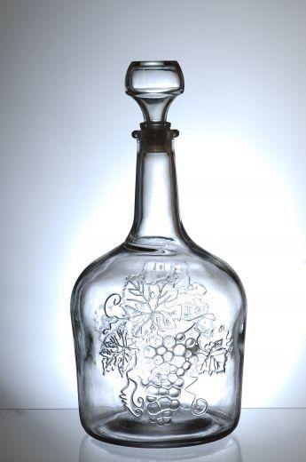 Бутыль Фуфырек с пробкой, 1,5 литра